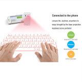 2015 Productos Nuevos calientes Teclado virtual del laser de Bluetooth con el banco de energía Rechagable