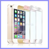 Glass mince Protector Screen Aolly Metal Aluminum Front Back Cas pour l'iPhone 6s Plus