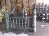 Asta della ringhiera di marmo verde della Cina della decorazione poco costosa di prezzi