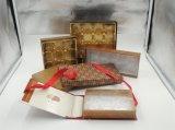 Caja de regalo de papel de la cartulina con la bandeja de la ampolla para el chocolate