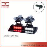 Voyant d'alarme rouge de pare-brise de lumière de pare-soleil du blanc DEL (GXT-402)