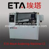 Automatische Schaltkarte-steckbares Bauteil-weichlötende Maschinen-Wellen-Lötmittel-Maschine C4
