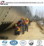 Tubo de acero galvanizado acanalado encajable de las alcantarillas a partir de la fábrica de 10 años