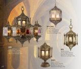Arabische Art-marokkanische Leuchter-Messinglampe (009)