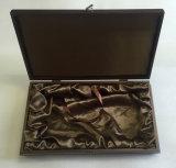 カスタマイズ可能な煉瓦茶木のギフト用の箱