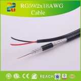 75 Ohm CCTV-koaxiales Kabel-Qualität Rg59 durch Xingfa