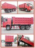 camion- de dumper du camion à benne basculante de 6X4 HOWO LHD Rhd