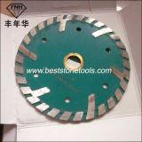 CB-22 안내장은 화강암 절단 (125X22.23mm)를 위해 톱날을