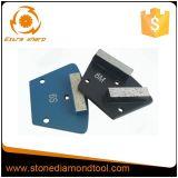 Пусковая площадка пусковой площадки трудного Bond пола диаманта меля конкретная полируя