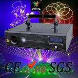 Laser do DJ do disco do estágio da animação do SD