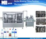 Botella de agua automática máquina que capsula de relleno que se lava 3 in-1