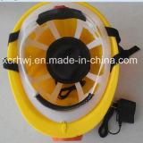 Prezzo di fabbrica del casco di sicurezza della lampada di estrazione mineraria LED di alta qualità della Cina, cappello del minatore delle miniere di carbone e protezioni con l'indicatore luminoso protetto contro le esplosioni del LED, casco di sicurezza nelle miniere con la lampada capa del LED