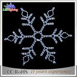 Luz aprobada del copo de nieve de la Navidad del estilo LED de CE/RoHS nueva