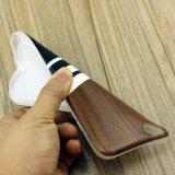 Caja de madera de encargo del teléfono de IMD TPU para el iPhone