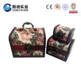 中国様式の骨董品の木の記憶のトランク(SCST00043)
