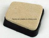 Almofada de polonês de nylon da esponja de Francoforte para o mármore