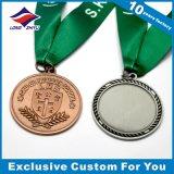 De Medaille van de Godsdienst van de douane met het In reliëf maken van het Embleem van de Douane van het Metaal van het Lint Toekenning