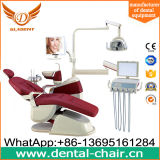 Nueva silla dental colorida paciente ergonómica de la lámpara de detección del diseño LED