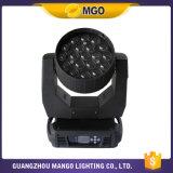 Luz principal móvil de la luz 19*12W de la colada del zoom de la viga del LED