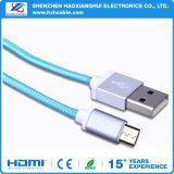 Prezzo di fabbrica per il micro cavo di carico del USB della treccia del USB