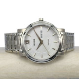 Waterproof su ordinazione Stainless Steel Date/Day Wristwatch per Men MW-16