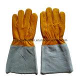 Gants de soudure en cuir de MIG/TIG