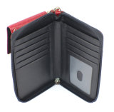 Telefon Style Croc Cow Leather Wallet mit Wristlet (HW250022)