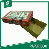 Cadre de dessin animé pour le fruit, caisse d'emballage de papier de fruit