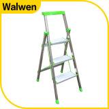 3 Ladder van het Huishouden van het Aluminium van de stap de Vouwbare