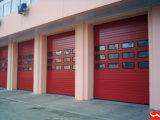 China-Schnittobenliegende Tür-Garage-geschnittentür (HF-J138)