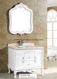 Dissipadores do banheiro da vaidade do PVC, gabinete de banheiro clássico