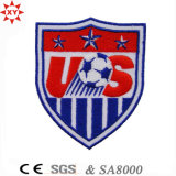 Logo를 가진 주문 Soccer Sport Embroidery Badge Article