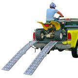 """90 """" rampes se pliants arqués par surface solide en aluminium duelle de la turbine ATV avec un 1, 500 livres. Capacité"""