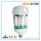 Luz de bulbo de aluminio del LED SMD 2835 E27 16W 22W 28W 36W LED con el vidrio