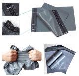 Saco de plástico personalizado do cinza do portador
