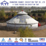 Grande barraca Mongolian de acampamento ao ar livre luxuosa de Yurt do evento de Ecotypic
