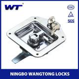 Wangtongの高い安全性のステンレス鋼のトラックの道具箱ロック