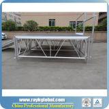 Equipo Móvil Etapa Plataforma remolcada etapa de aluminio