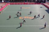 Plancher d'intérieur de verrouillage de handball de polypropylène de championnat européen pour le championnat