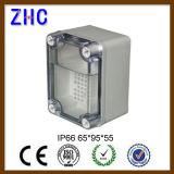 Il contenitore 160*160*90 di ABS IP66 con le orecchie impermeabilizza la scatola di giunzione di plastica elettronica
