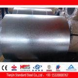 Bobina d'acciaio galvanizzata ricoperta zinco tuffata calda zero del lustrino SGCC
