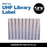Étiquette de bibliothèque de fréquence ultra-haute Monza 4 pour le management de livre