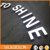 Logotipo feito sob encomenda atrativo da letra 3D do sinal