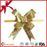 勝利者のクラフトの結婚式/誕生会/感謝祭のアクセサリの現在のギフト用包装紙PPの引きのリボンの蝶弓