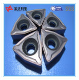 Inserções Indexable do CNC do carboneto da alta qualidade para o corte de aço