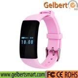 Reloj elegante de la pulsera del monitor del ritmo cardíaco de Gelbert Bluetooth