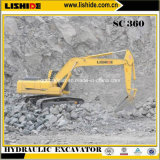 Excavador hidráulico 34.8ton Sc360.8 de la correa eslabonada de Lishide para la venta