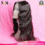Peruca 130% brasileira do cabelo do Virgin das perucas do cabelo humano da parte dianteira do laço do estilo da peruca da peça da densidade U