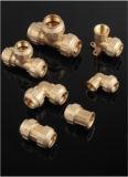 Guarnición de Cobre de Cobre Amarillo de la Válvula del Cobre 617n/Brass de la Vávula de Bola