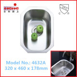 Раковина кухни шара Undermount одиночная, раковина штанги, раковина мытья (4632)
